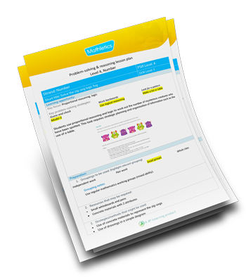 Problem-Solving and Reasoning Lesson Planner